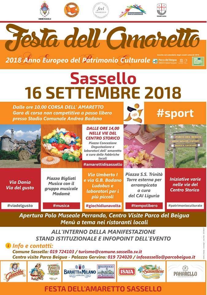 Festa Amaretto Sassello 2018