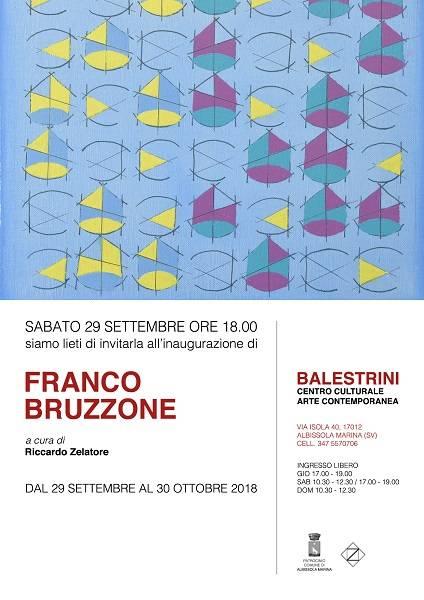 Franco Bruzzone mostra d'arte