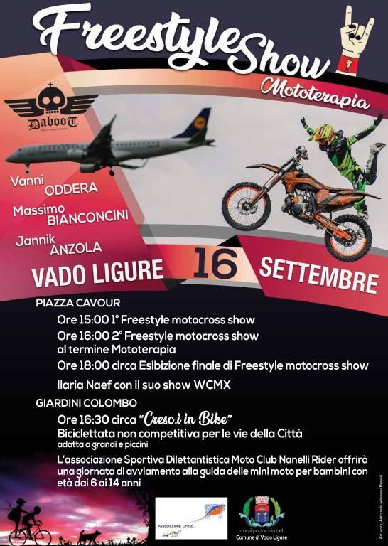 Freestyle Show & Mototerapia Vado Ligure 2018 AGGIORNATO