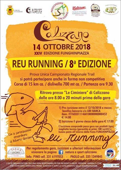 Reu Running Trail 2018 Calizzano