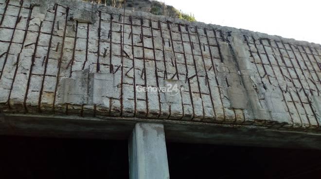 gallerie artificiali in loc. Sant'Anna a Sestri Levante,