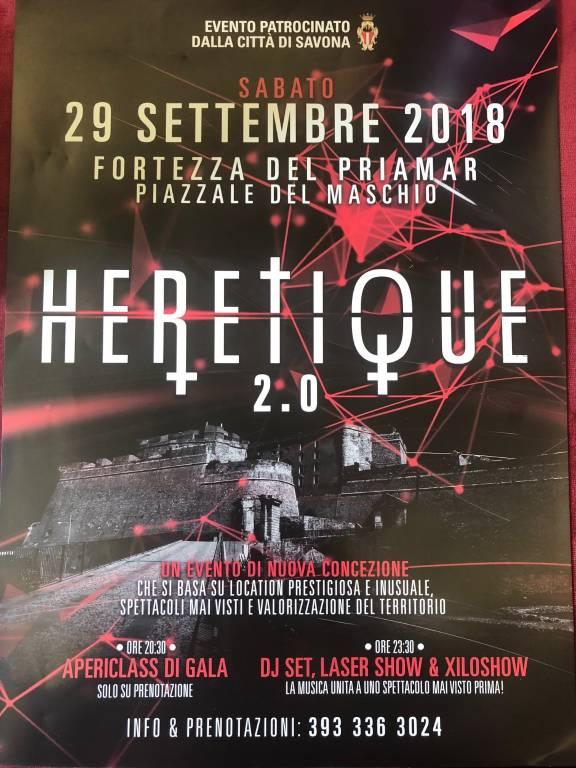 Heretique Savona 2018