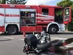 incidente auto moto albenga