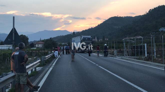 incidente mortale ortovero