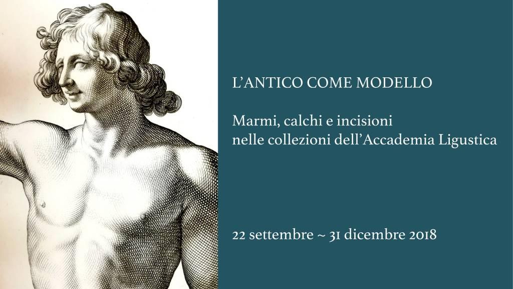 """""""L'antico come modello"""" Accademia Ligustica di Belle Arti"""