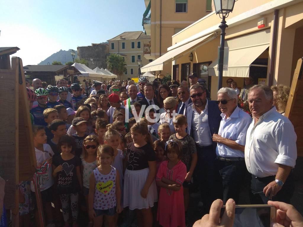 Laigueglia, inaugurazione della Festa di San Matteo