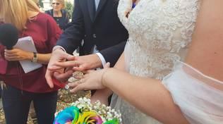 matrimonio sfollati
