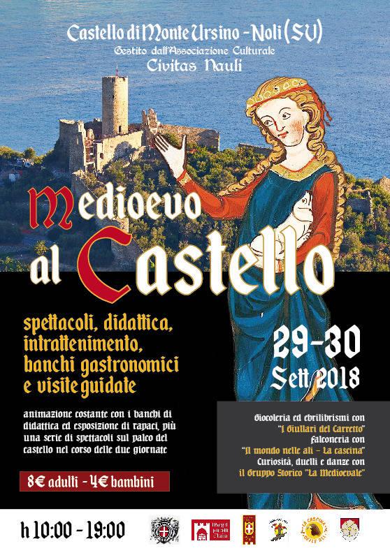 Medioevo al Castello 2018 Noli