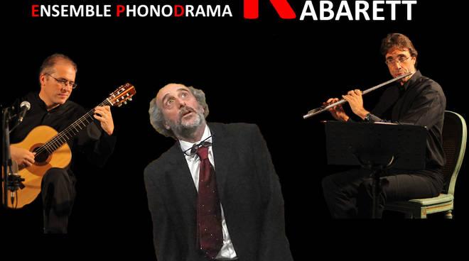 """MonKey's Kabarett"" monologo teatrale Ensemble Phonodrama"