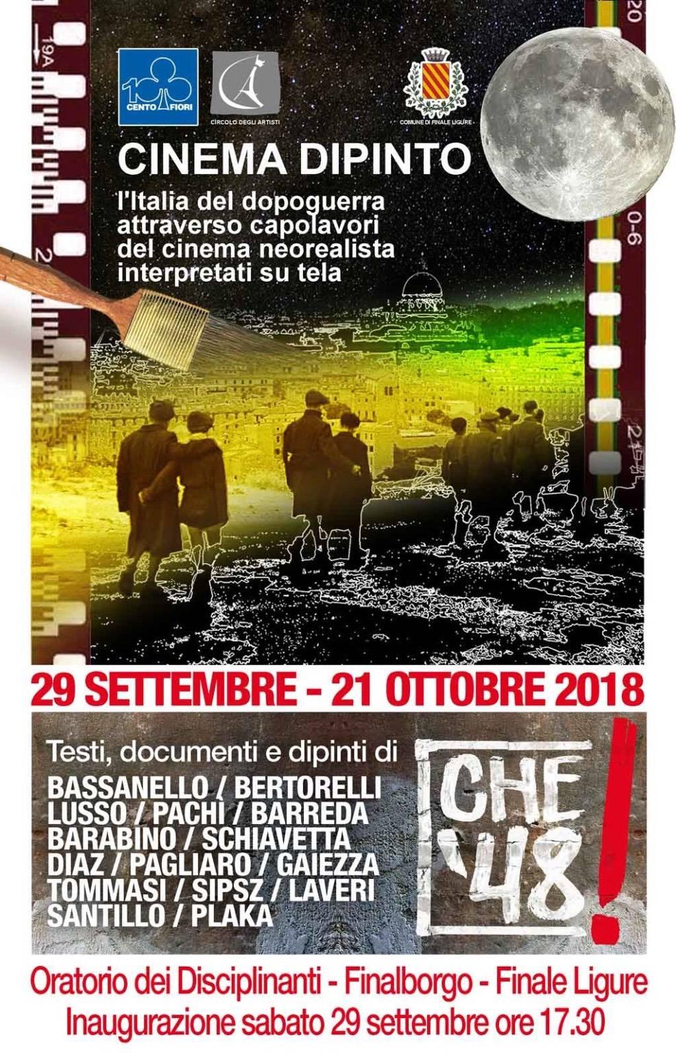 "Mostra ""Cinema Dipinto"" Finalborgo"