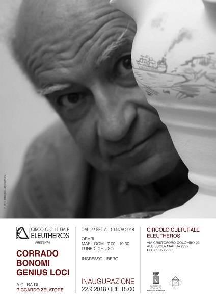 "Mostra d'arte ""Corrado Bonomi. Genius Loci"""