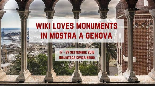"""Mostra Fotografica """"Wiki Loves Monuments"""""""