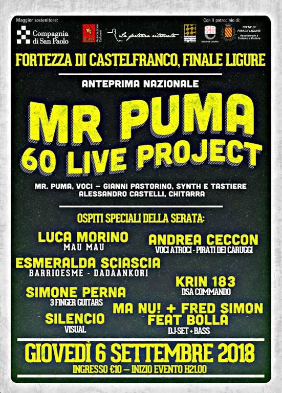 """Mr Puma 60 Live Project"""