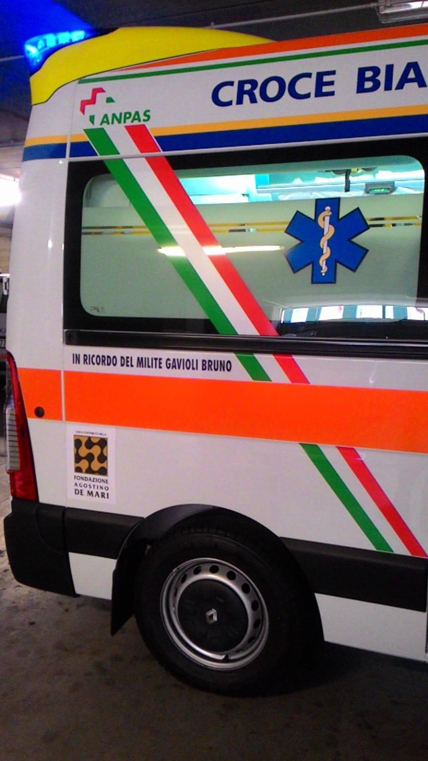 Una Nuova Ambulanza Per La Croce Bianca Di Finale Ligure Acquistata