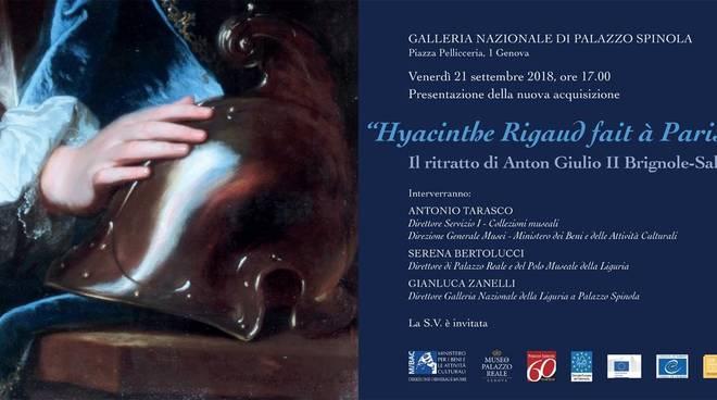 "Opera d'arte ""Hyacinthe Rigaud fait à Paris 1704"""