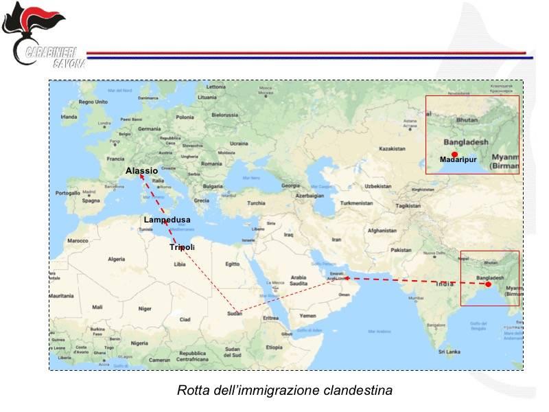 Operazione contro l'immigrazione clandestina