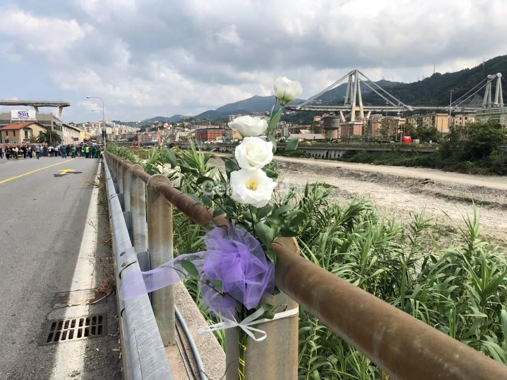 ponte morandi, un mese dopo, la giornata della commemorazione