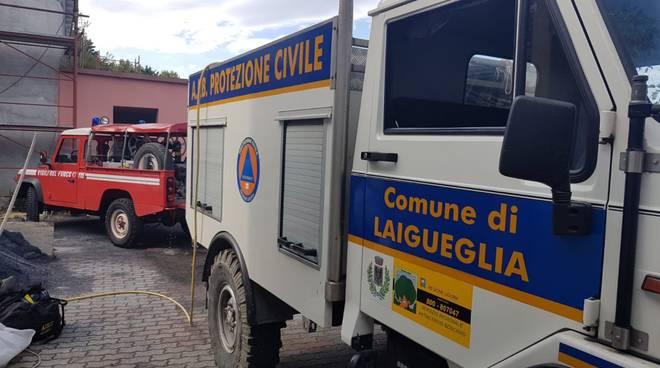 protezione civile laigueglia