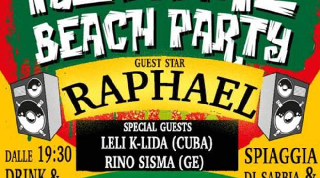 Reggae Party in Spiaggia Live Band Show Bagni Nautilus