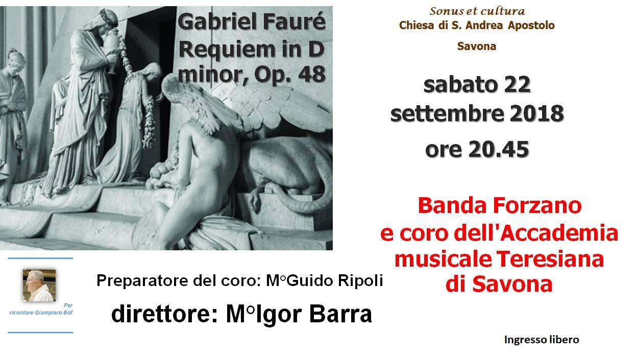 """Requiem"" Fauré Chiesa Sant'Andrea Savona"