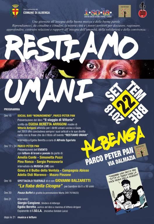 """""""Restiamo Umani"""" Albenga"""