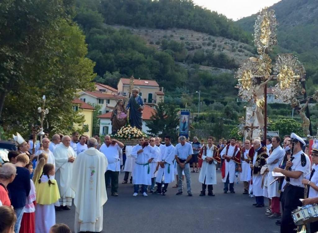 Processione Madonna dell'Otto Verzi Loano