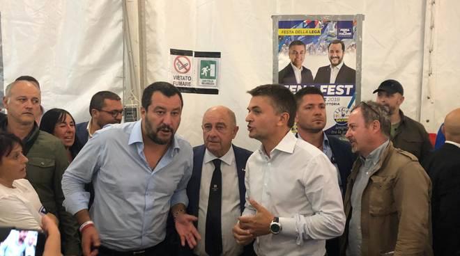 Salvini festa della.lega 2018