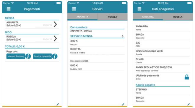 Savona, la mensa si paca con l'app: la guida