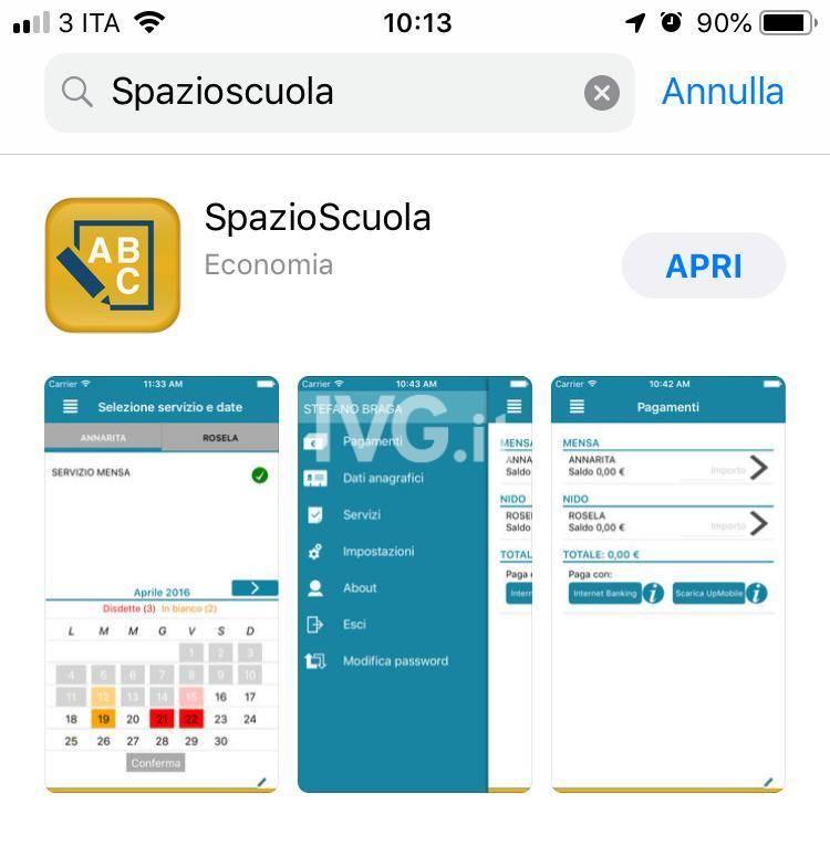 Savona, la mensa si paga con l'app: la guida