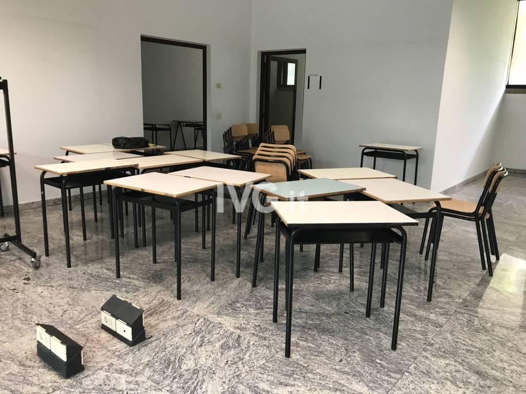 Sopralluogo aule liceo ex tribunale Albenga
