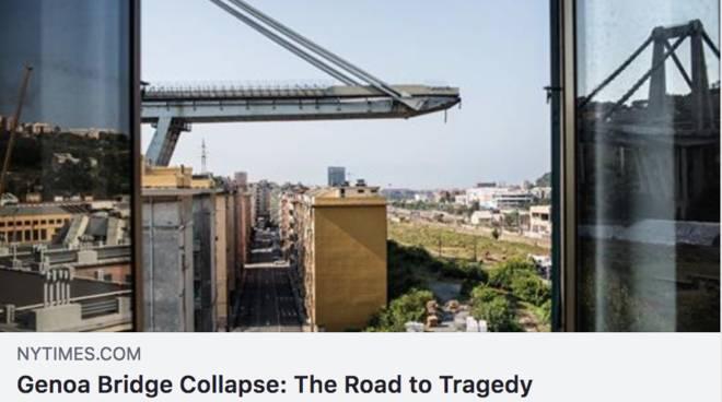 Ponte Morandi, Toti: derogare il Codice Appalti, per completare in un anno