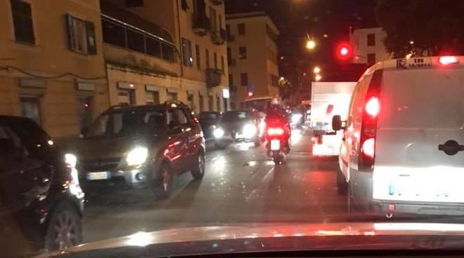 traffico bolzaneto