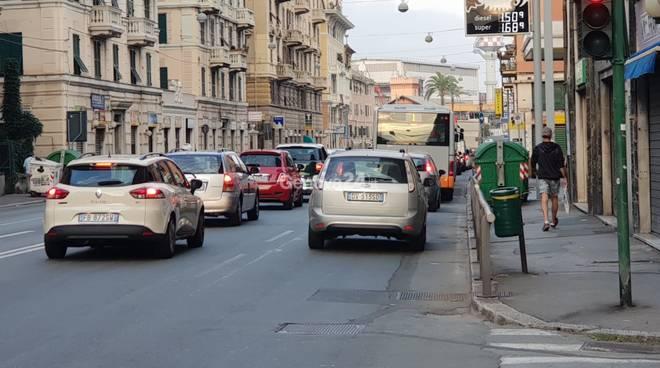 Traffico Sampierdarena, Cornigliano, Sestri