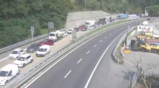 traffico valpolcevera e autostrada