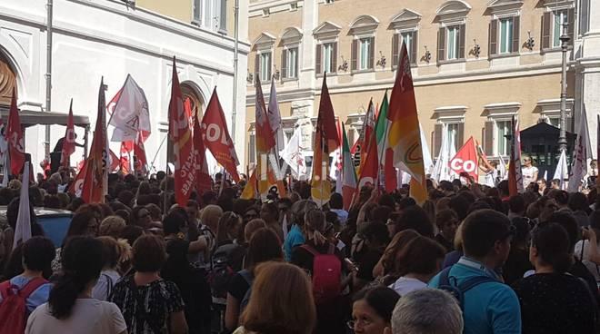 Protesta Insegnanti Roma Graduatorie