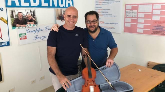 Tomati Podio Violino Liceo Musicale Albenga