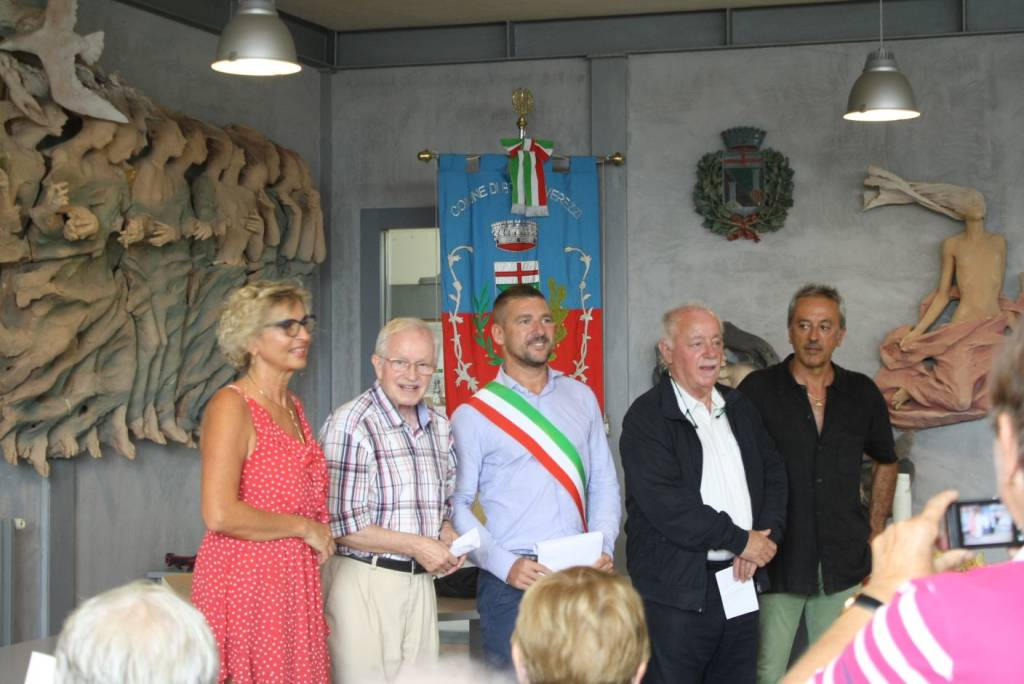 Turisti Borgio Verezzi Casa Valdese