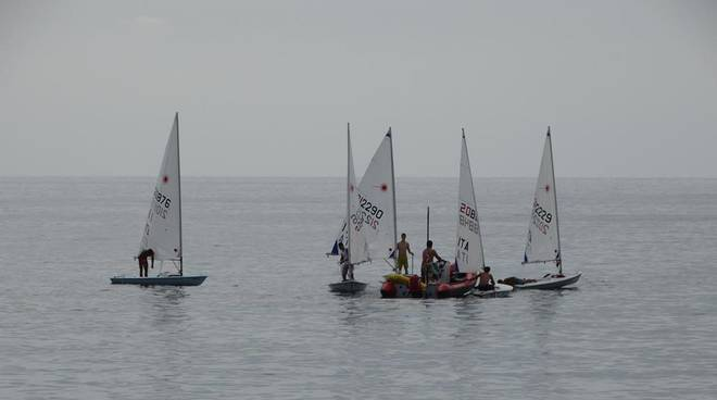 Vela: Optimist e Laser a Sori