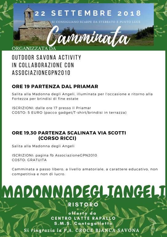 """""""Voce e Luce"""" Madonna degli Angeli Savona"""