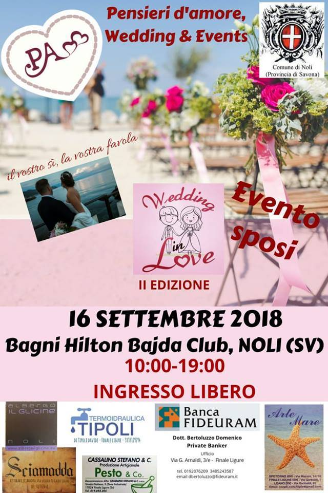 Wedding in Love Noli 2018