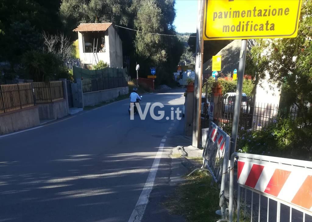 Albisola, i cartelli in frazione Grana