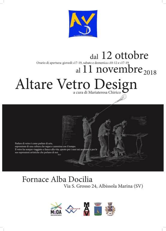 """""""Altare Vetro Design"""" - Fornace Alba Docilia"""