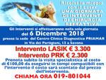 6 Dicembre Giornata Chirurgia Refrattiva al Centro Clinico Priamar