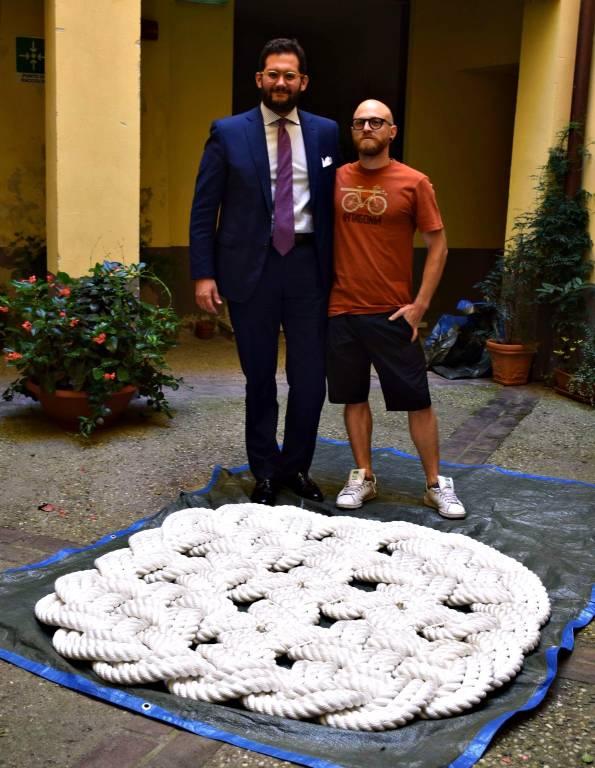 Clementi dona opera Fondazione Oddi Albenga