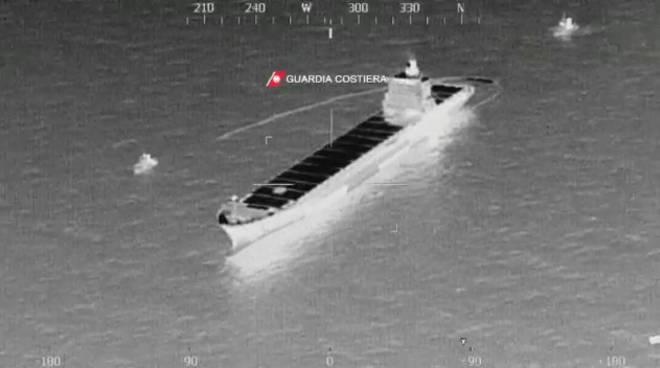 Collisione tra navi al largo della Corsica