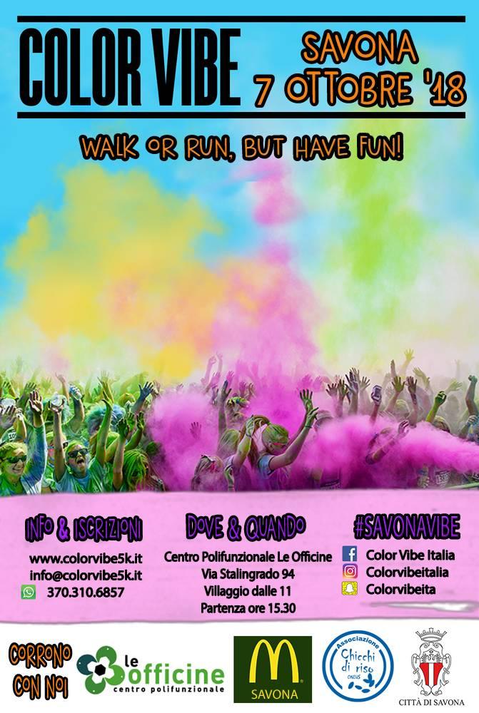 Color Vibe Le Officine Savona 2018