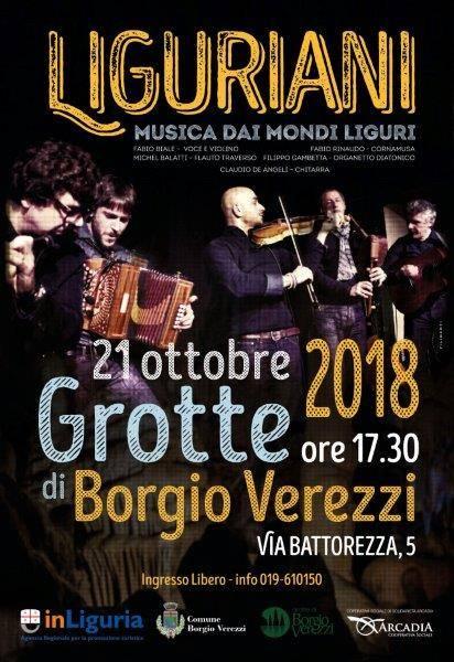 Liguriani Grotte Borgio Verezzi 2018