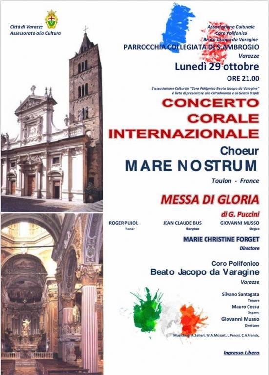 """Coro """"Mare Nostrum"""" Tolone Sant'Ambrogio Varazze"""