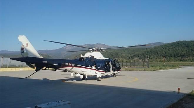 elicottero carabinieri villanova d'albenga