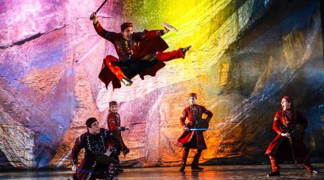 """Fire of Georgia"" Royal National Ballet"